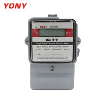 #September Purchase Time Product Oem Single Phase Two Wire Digital Kwh Meter With Metal Case And Glass Cover