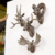 2016 new product artificial wall mounted resin animal head