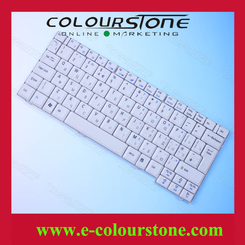 Wholesale low price Russian Replacement laptop keyboard for ACER 2920Z RU WHITE 2920 6231 6252 6290 6291 6292