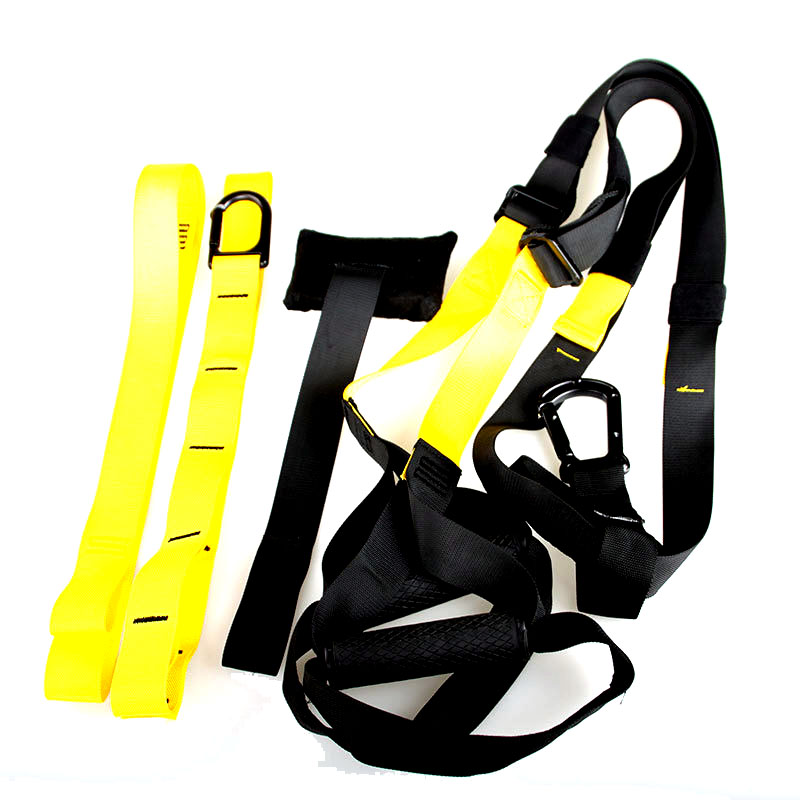 Fitness gym functional suspension trainer / Super Strong Nylon Webbing straps