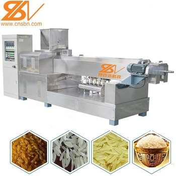 2019 hot sales nutritional Artifical Rice machine Production Line