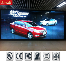 "Asianda advertising Ultra Narrow Bezel 46"" Samsung 3.5mm 1080P seamless LCD video wall 2x2, 3x3, 4x4"