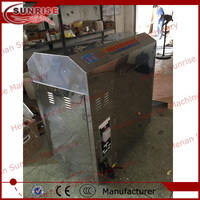 stainless steel cacao bean roaster machine