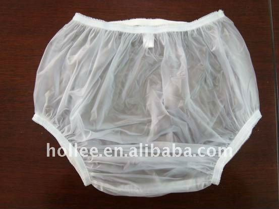 transparent pvc baby adult diaper