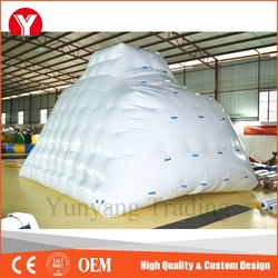 Inflatable Iceberg, Water Climbing Wall, Inflatable Water Rock for Sale