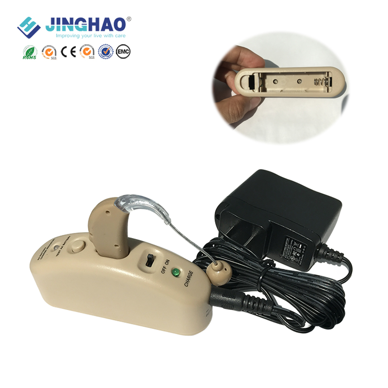 Rechargeable Type Sound Amplifier Elderly Behind The Ear Portable Hearing Amplifier Ear Aid