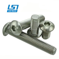 wholesale hardware product fastener manufacture Stainless steel hex scoket head machine screws DIN7380