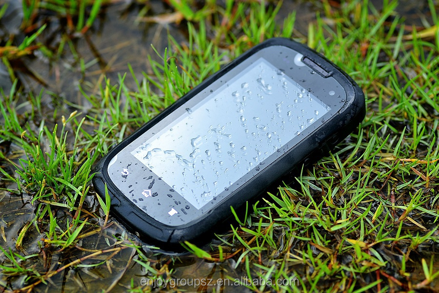 4.0inch quad core rugged smart mobile waterproof cell phone