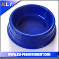 wholesale plastic round shape pet dog food bowl