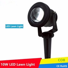 Waterproof IP65 12V 10W LED Garden spot outdoor RGB changeable 220v 110v spike lawn lamp