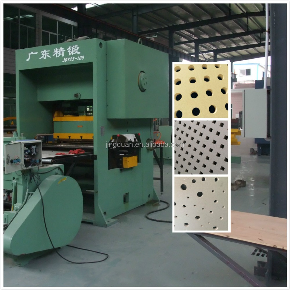 6mm round hole perforated gypsum board ceiling specification roll forming machinery