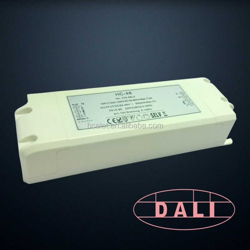 constant current DALI dimmable 600ma 72v led driver