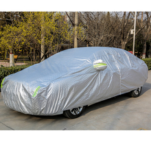 Low Prices custom Waterproof fireproof easy Aluminum Film Car Cover