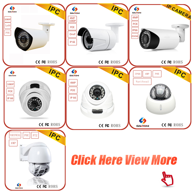 Latest outdoor night vision full hd home alarm bullet security cctv ip camera 1080p