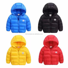 lepanxi brand oem service supply type and winter season kid fake down jacket