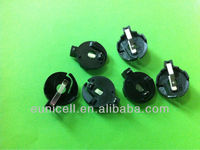 CR2032 lithium coin cell batteries holders