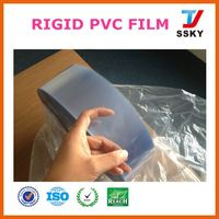 Top factory pvc/pe/pvdc compound hard food grade packaging plastic roll pvc film pharmaceutical