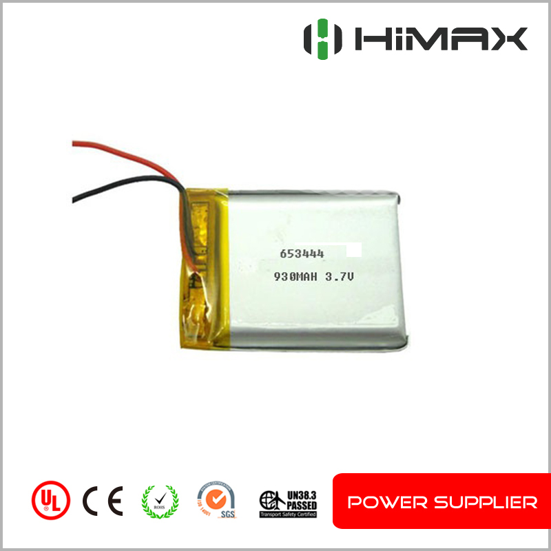 lipo battery 3.7v 950mah rechargeable battery 553444 lithium polymer battery