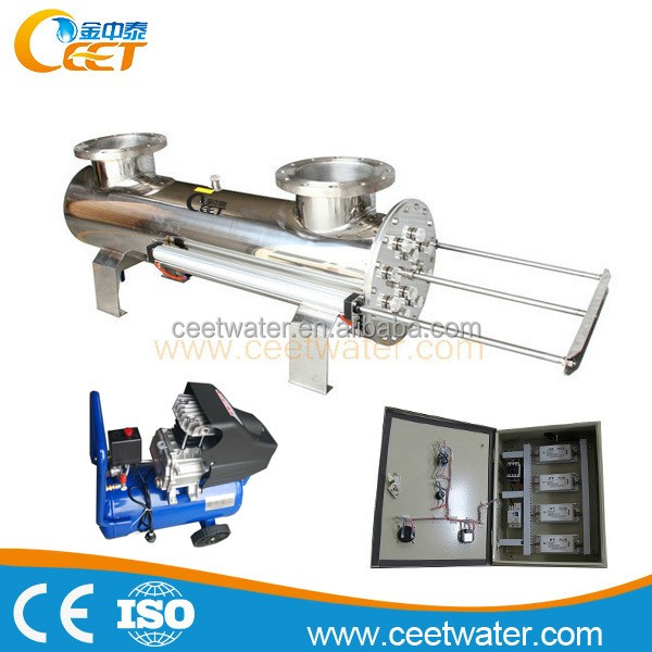 piping type immersion high quality Integrated electrical box uv sterilizer