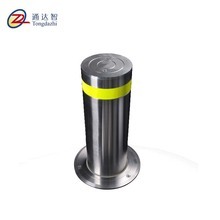 Bollard installation road metal parking bollards