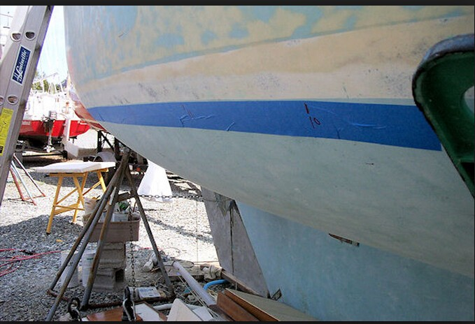 good quality masking antifouling tape in painting jobs in hull