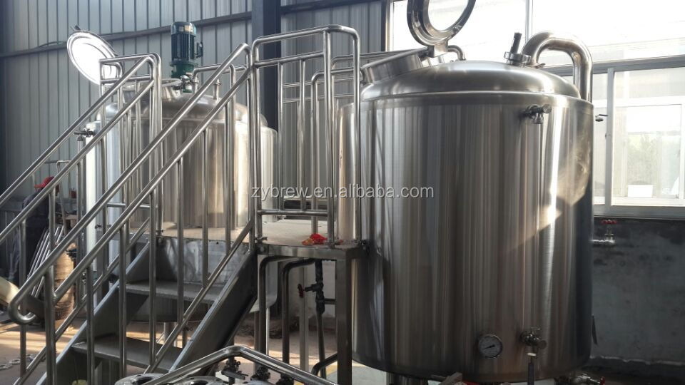 Electric Brewery Controller Plc Controlling Brewing System