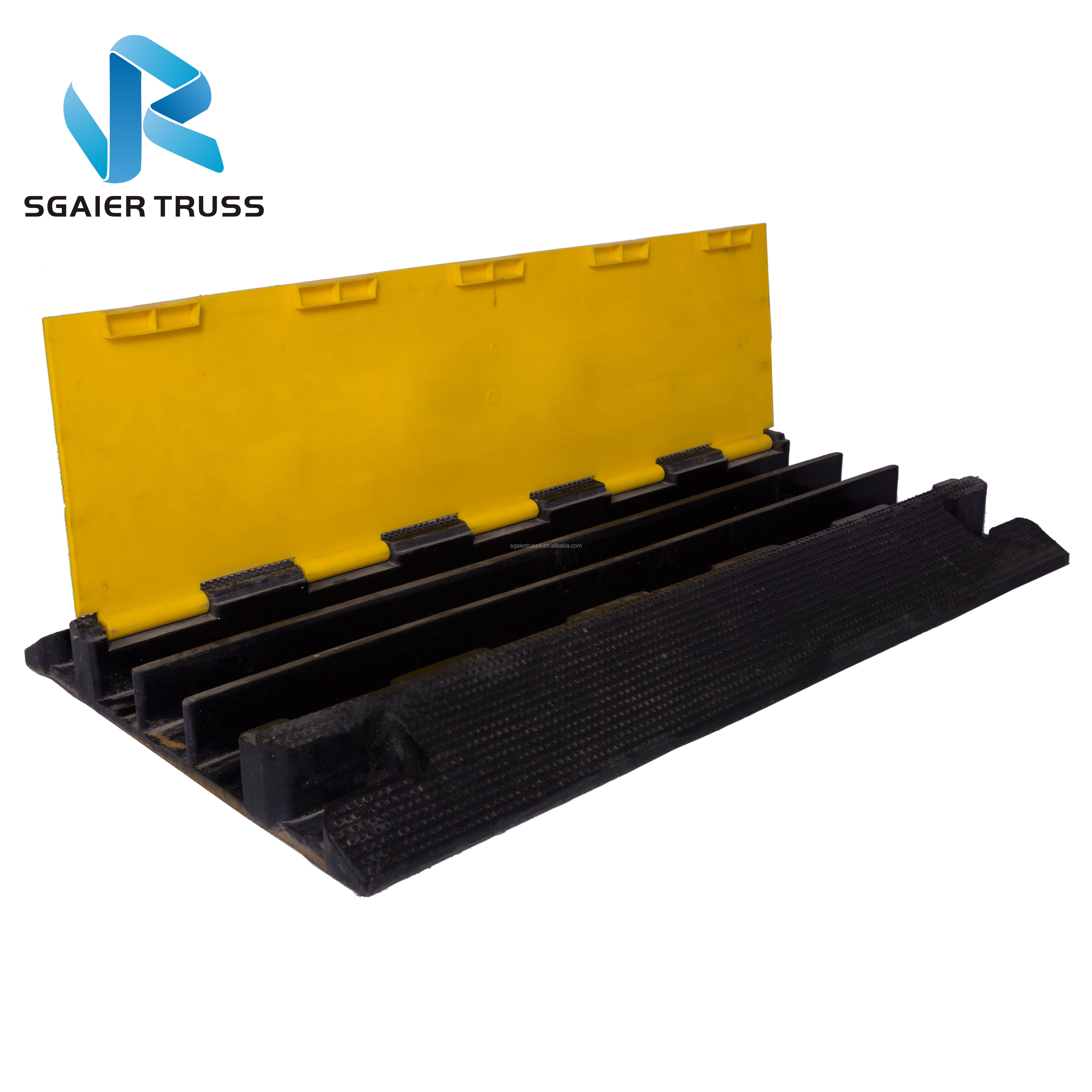 Wholesale PVC cover ramp /rubber cable tray/cable cover ramp