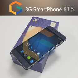 2017 China Factory price K16 android smart phone city call android phone 5.0 inch Quad core 3G Android smart phone nice design