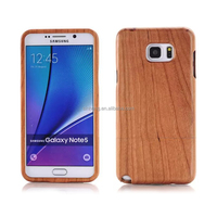 Genuine Wood Case For Samsung Galaxy Note 5,For Note 5 Case Wood