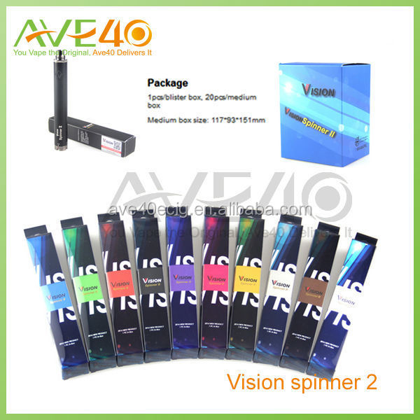 China manufacturer Ave40 vision spinner 2 wholesale 2014 vision 2 spinner 1650 mah vision spinner 2
