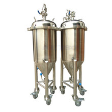 Industrial wheat beer fermenter /SS304 conical tank for beer