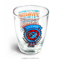 New arrival high quality medoff Glass Drinkware Type /Shot Glass Glass Type /Shot Glasses