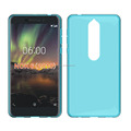 clear Transparent soft mobile phone case for Nokia 6 2018 tpu back cover