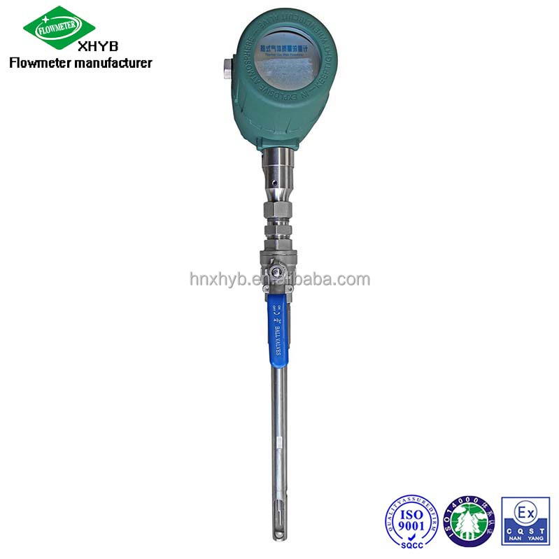 Compressed air flowmeter Biogas flow meter Thermal gas mass flow meter