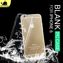 For Transparent Shell Casing Iphone 6,For Cell Phone Crystal Iphone 6 Case Back Covers,For Custom Print Hard Back Cover Iphone6