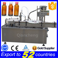 Free shipping PLC controlled liquid filling sealing machine,bleach filling machine
