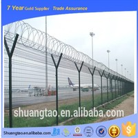 Eco-friendly fashion razor wire fencing, barbed wire roll price fence, barbed wire length per roll