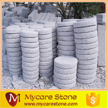 Grey granite cheap garden stepping stones natural stone paver