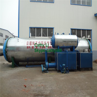 High pressure processing equipment for mushroom bags