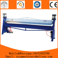 Anhui hand type sheet metal folding machine manual plate bending machine price