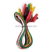 DIY Test Leads Alligator Clips Electrical 10pcs Dual-head Multi-color for Arduno