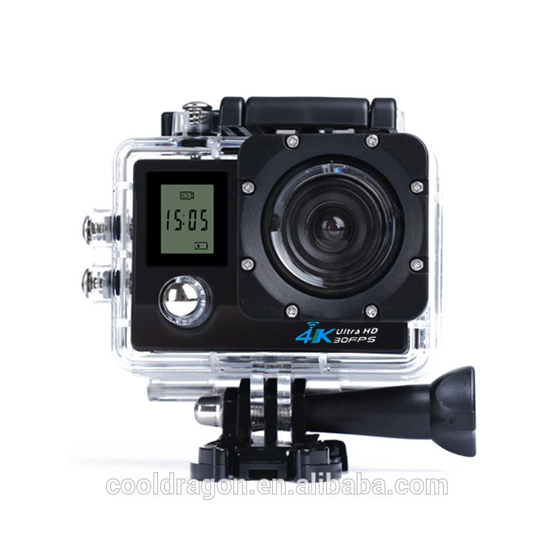 <strong>K1</strong> 4K WiFi Action Camera Waterproof <strong>2</strong> inch TFT LCD Screen DV Camcorder Sport Video dual screen action camera