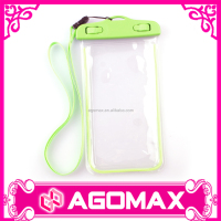 IPX8 10M & 30 MIN dry pouch pvc dustproof waterproof cell phone case