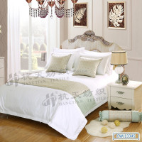 special design excellent fabric bed runner bed scraves throw bedding linens for hotel