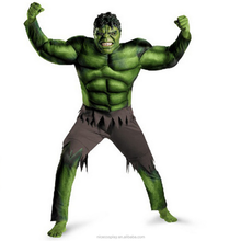 Hot America Movie Marvel's The Avengers Hulk Cosplay Costumes For Kids Wholesale