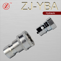 Zj-Yba Close Type Hydraulic Quick Coupler (ISO7241-1B)