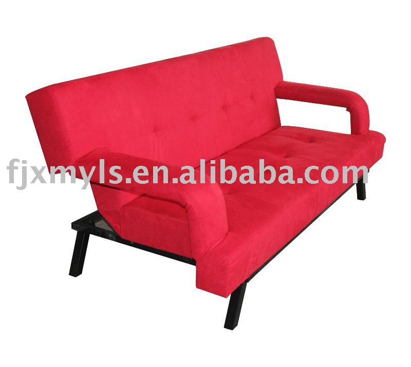 Comfortable folding fabric sofa bed