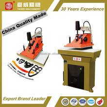 China Quality Made Intelligent Multiforce Swing arm CLicker Press Shoe Sole Making Machine