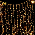 Home decorative led curtain lights holiday lights