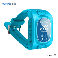 Wonlex CE/RoHS GPS Kids Smart Watch Mini Gps Personal Tracker/GSM SOS Watch Type Mobile Phone
